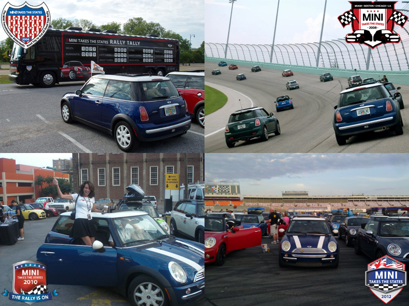 Trevor at MINI Takes the States 2006-2012