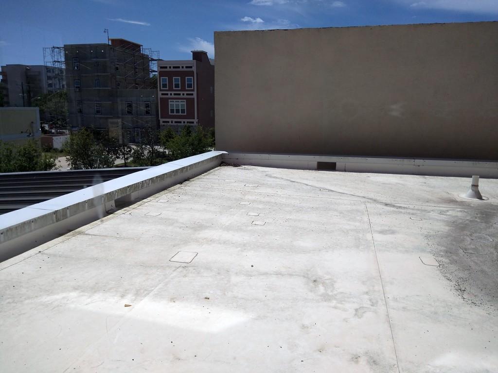 Roof Adjacent to Loft
