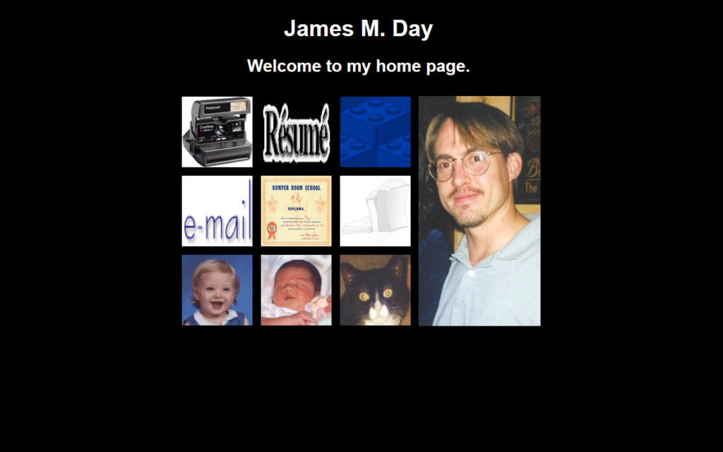 jamesday.net Homepage 9/8/1999