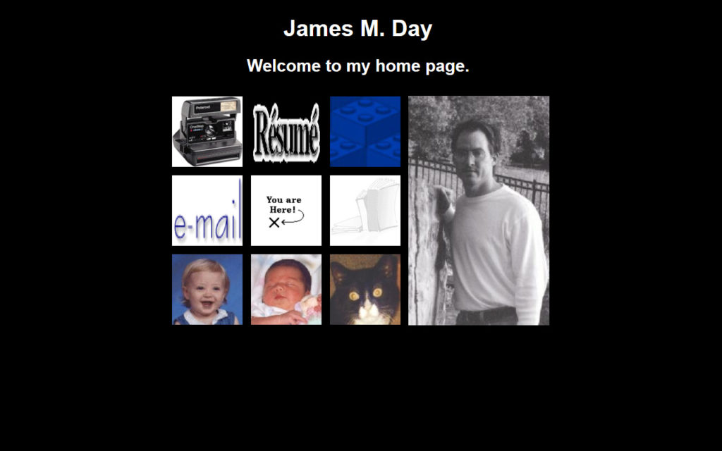 jamesday.net Homepage 4/22/2000