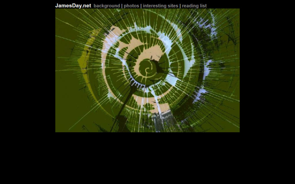 jamesday.net Homepage 12/20/2001