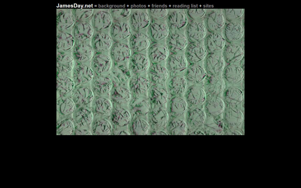 jamesday.net Homepage 9/29/2002
