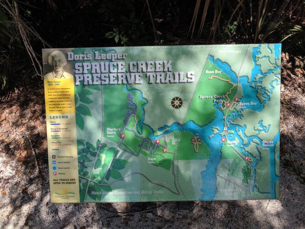 50 Hikes: #45 Doris Leeper Spruce Creek Preserve