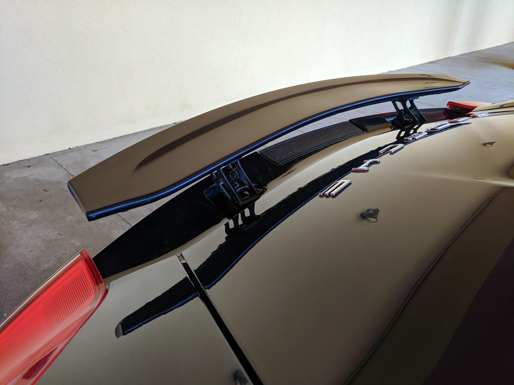 Porsche Boxster Spoiler