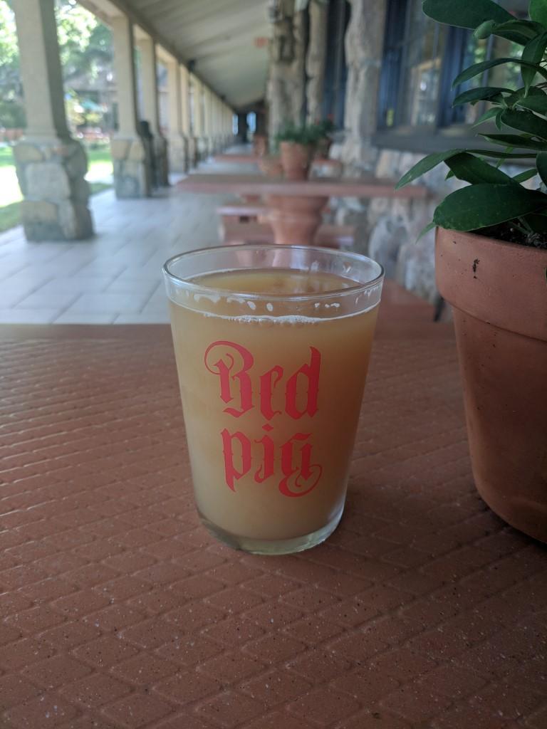 Red Pig Brewery Hazy Beer
