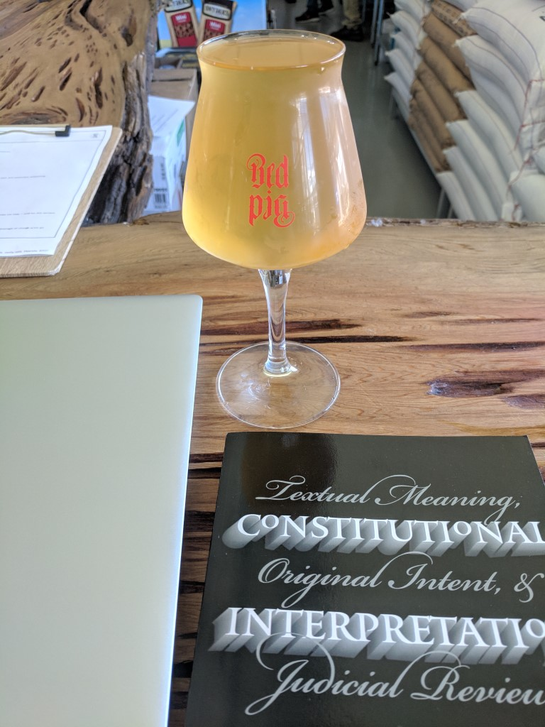 Red Pig Brewery Beer and Book