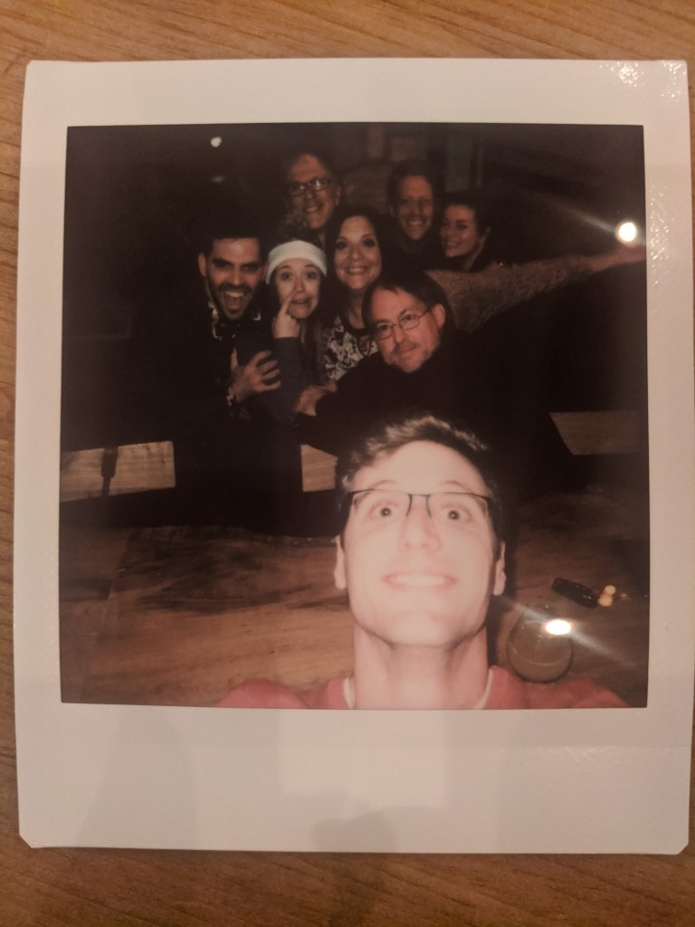 Red Pig Brewery Polaroid