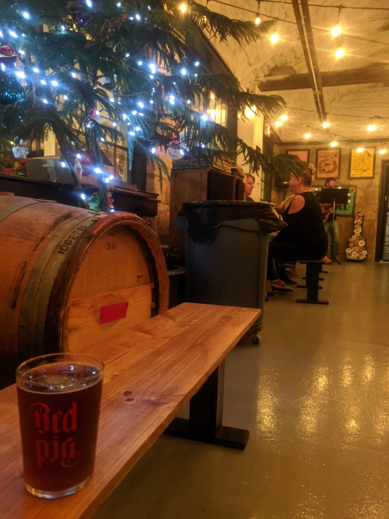 Red Pig Brewery Christmas