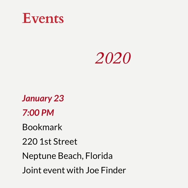 Steve Berry Event Listing