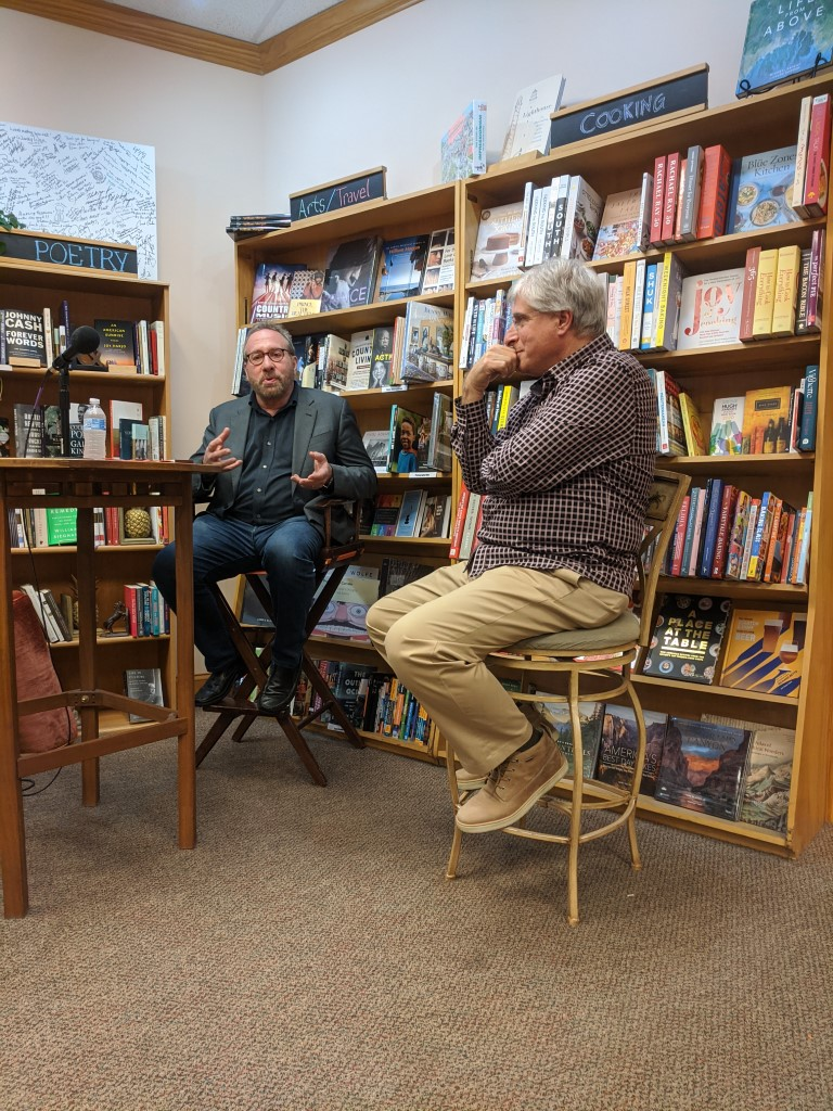 Joseph Finder and Steve Berry at The BookMark
