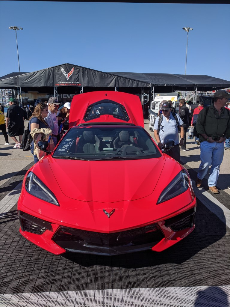 2020 Corvette at the 2020 Rolex 24 at Daytona