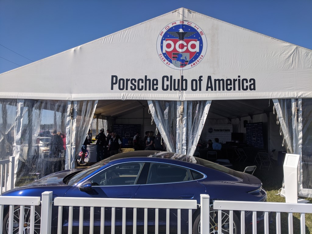 PCA Text at the 2020 Rolex 24 at Daytona
