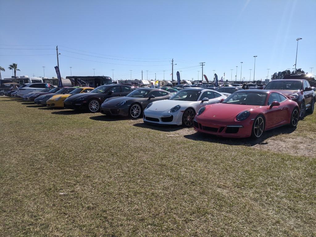PCA Porsches at the 2020 Rolex 24 at Daytona