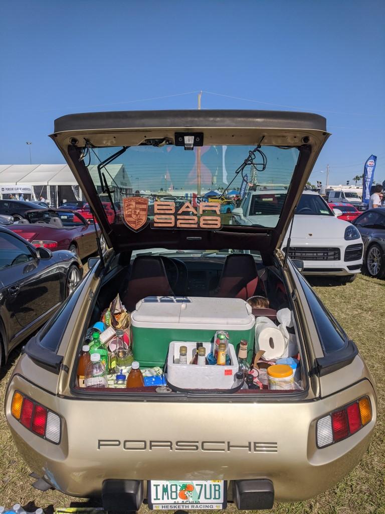 Porsche 928 at the 2020 Rolex 24 at Daytona