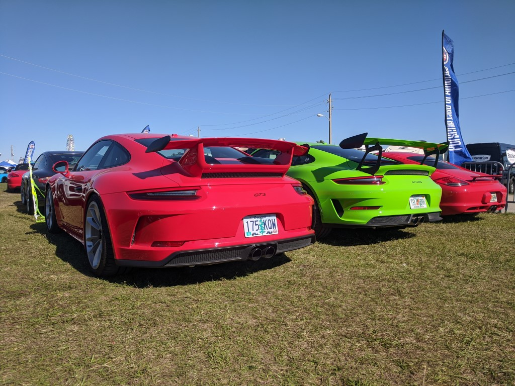 PCA Porsches at the 2020 Rolex 24 at Daytona