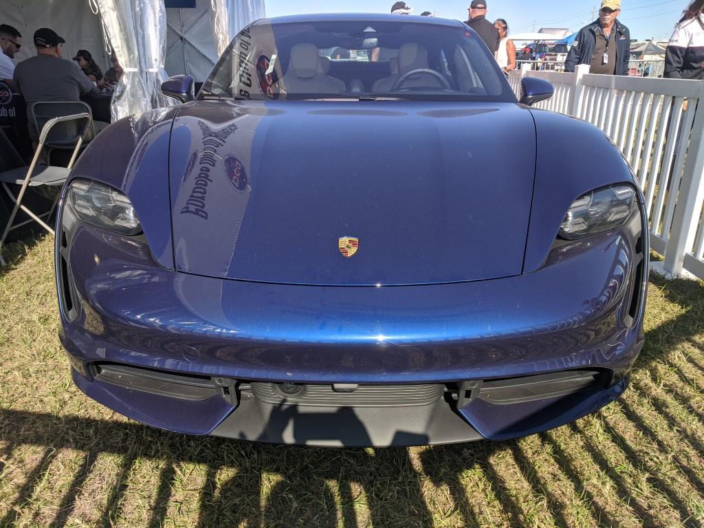 Porsche Taycan at the 2020 Rolex 24 at Daytona