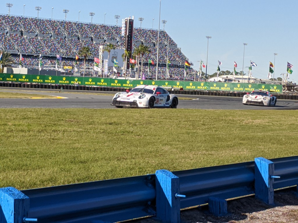 2020 Rolex 24 at Daytona Porsches