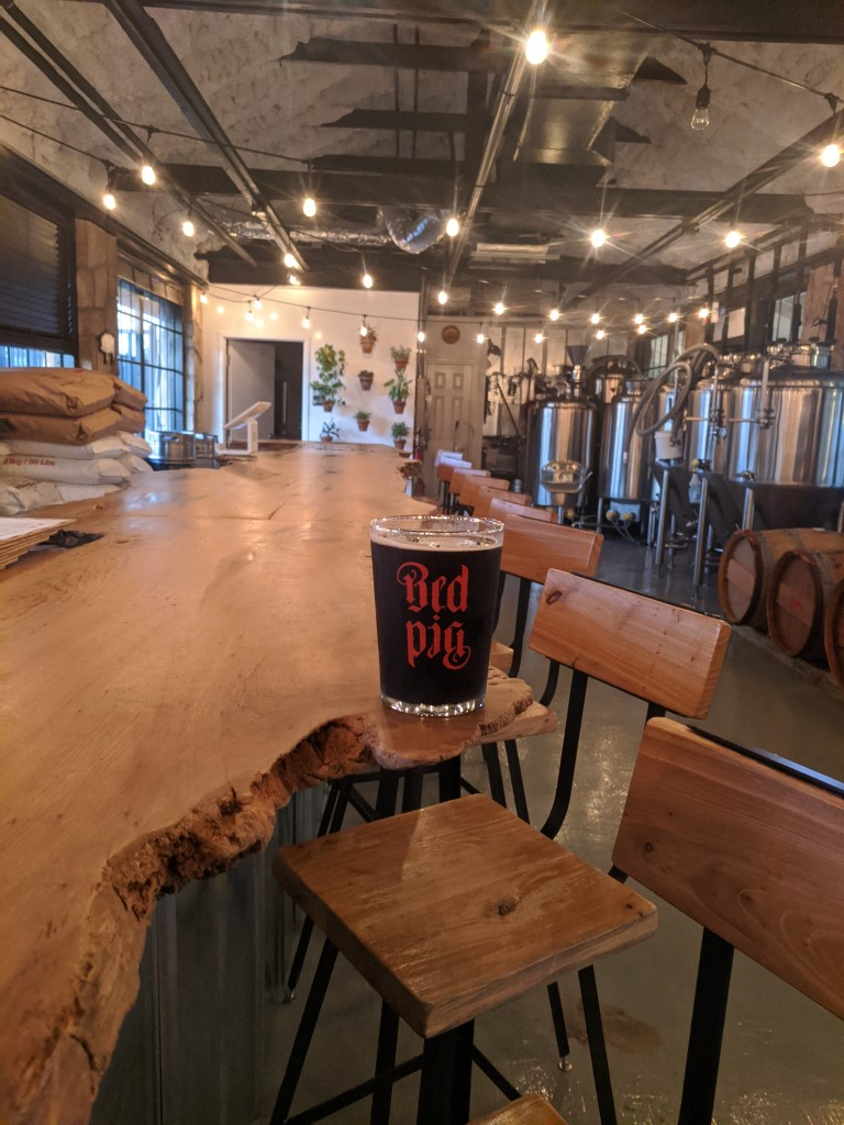 Red Pig Brewery Interior