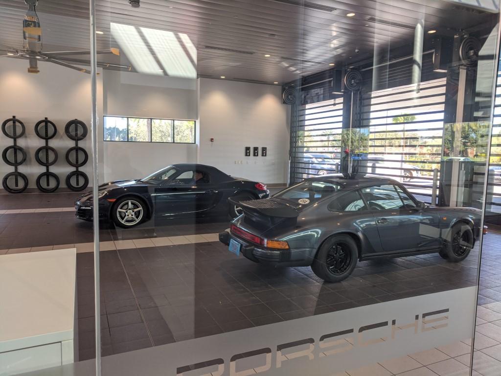 Porsche Boxster and 911