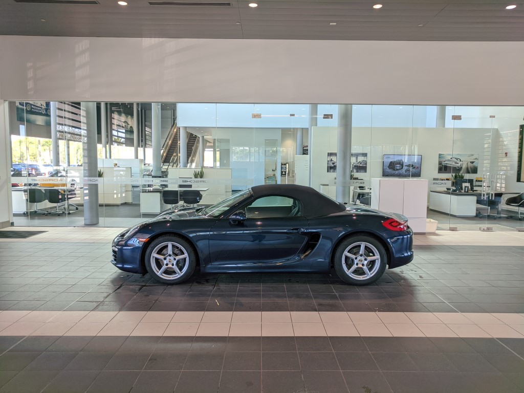 Porsche Boxster at Porsche South Orlando