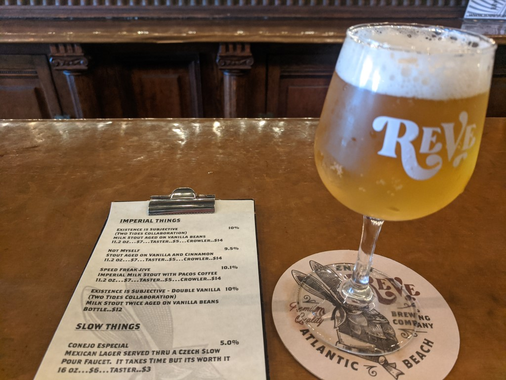 Reve Brewing Beer