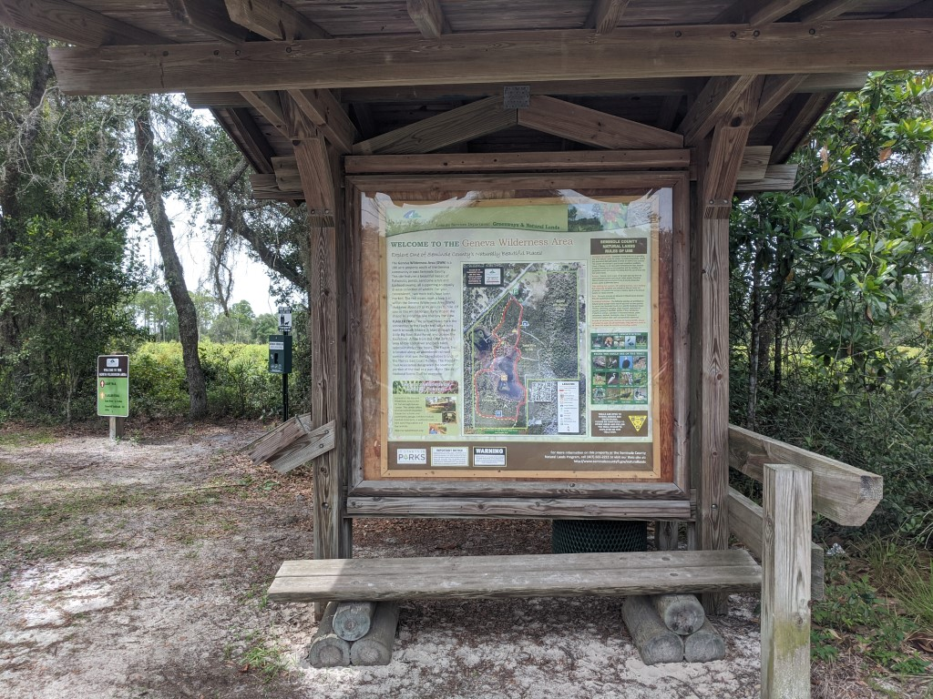 50 Hikes: #23 Geneva Wilderness Area Trailhead