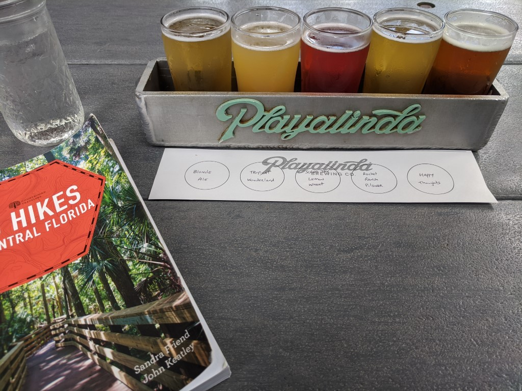 50 Hikes: #48 Enchanted Forest Sanctuary Beer