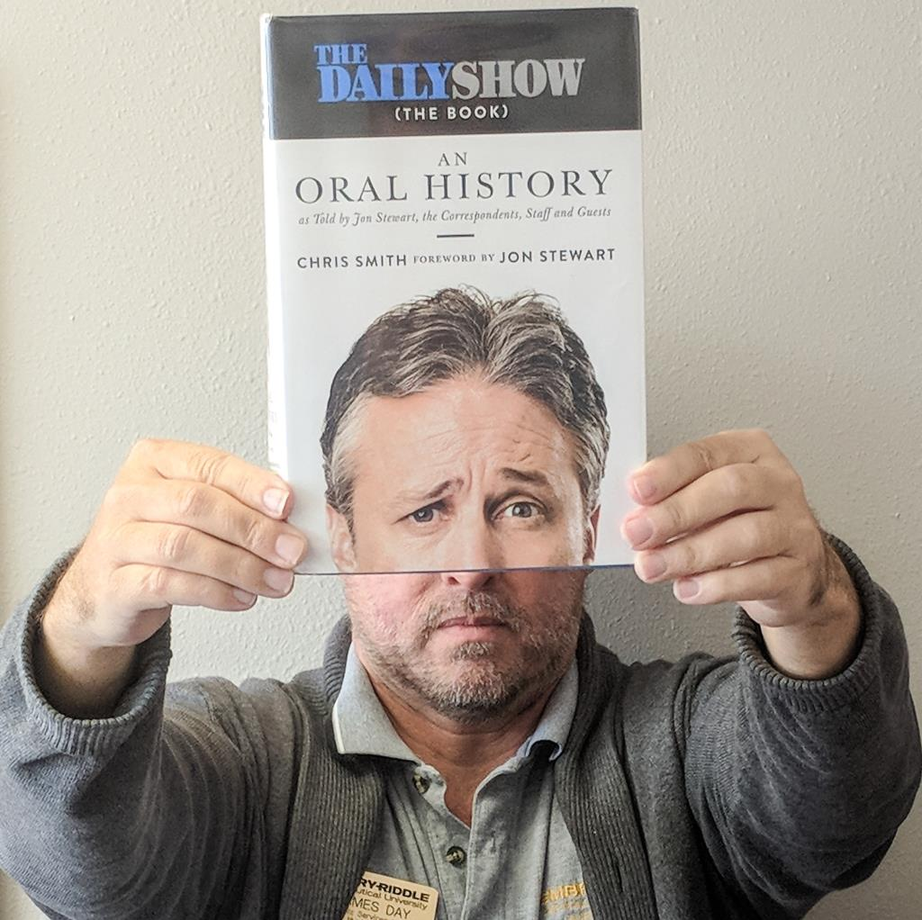 Bookface The Daily Show